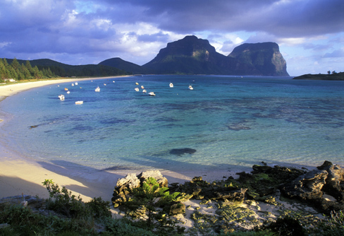 The magnificent Lord Howe island. Picture: Mike Gebicki