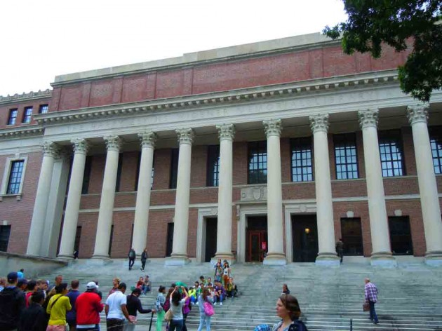 Boston's living memorial library.