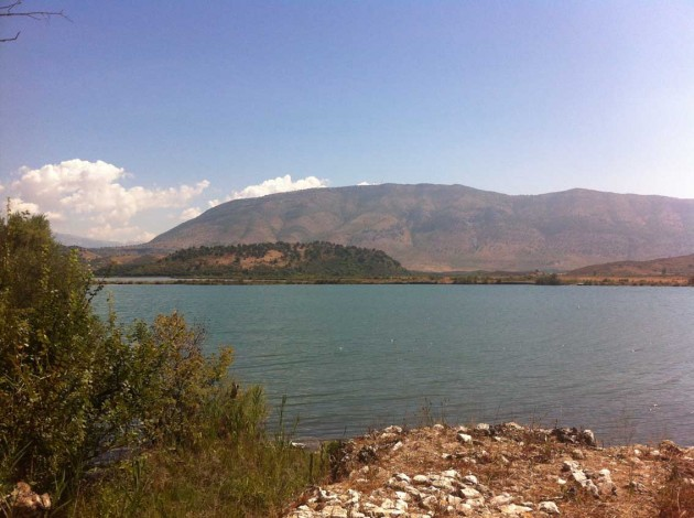 The lake at Butrint