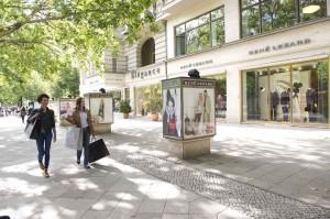 Shopping around the Kurfürstendamm complex. Picture: Visit Berlin