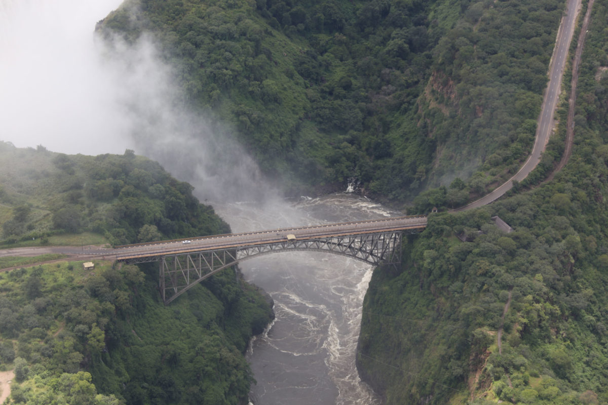Bridge over the Victoria Falls