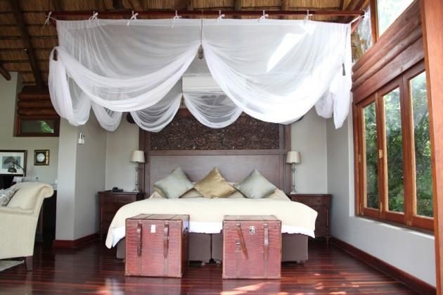 Our bed at Royal Chundu.