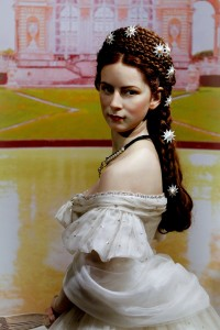 Empress Elisabeth –Sisi – immortalised in wax at Madame Tussauds.