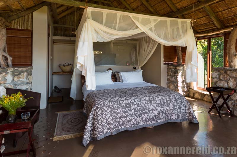 Our room at Lagoon Lodge.