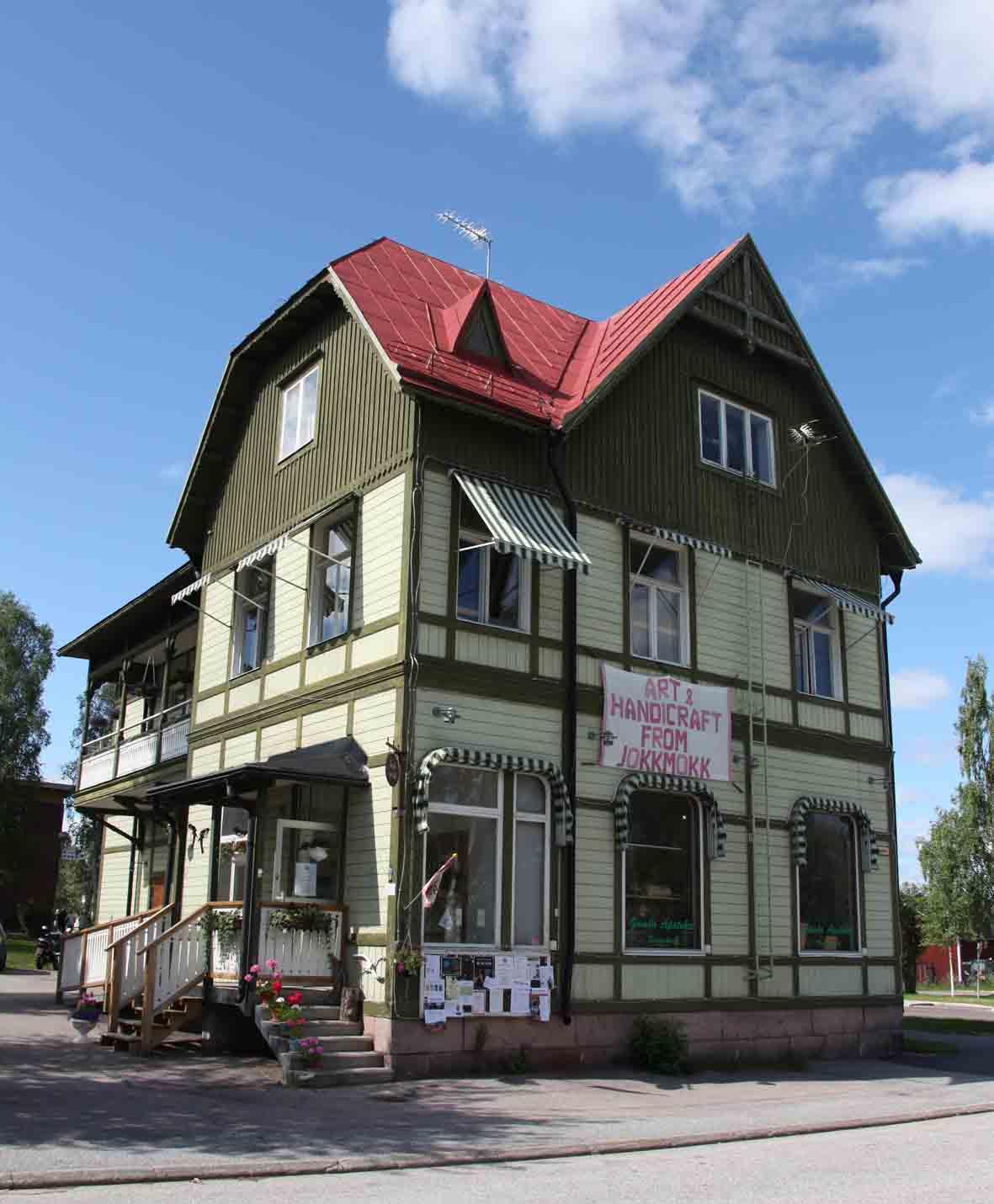 A shop in Jokkmokk