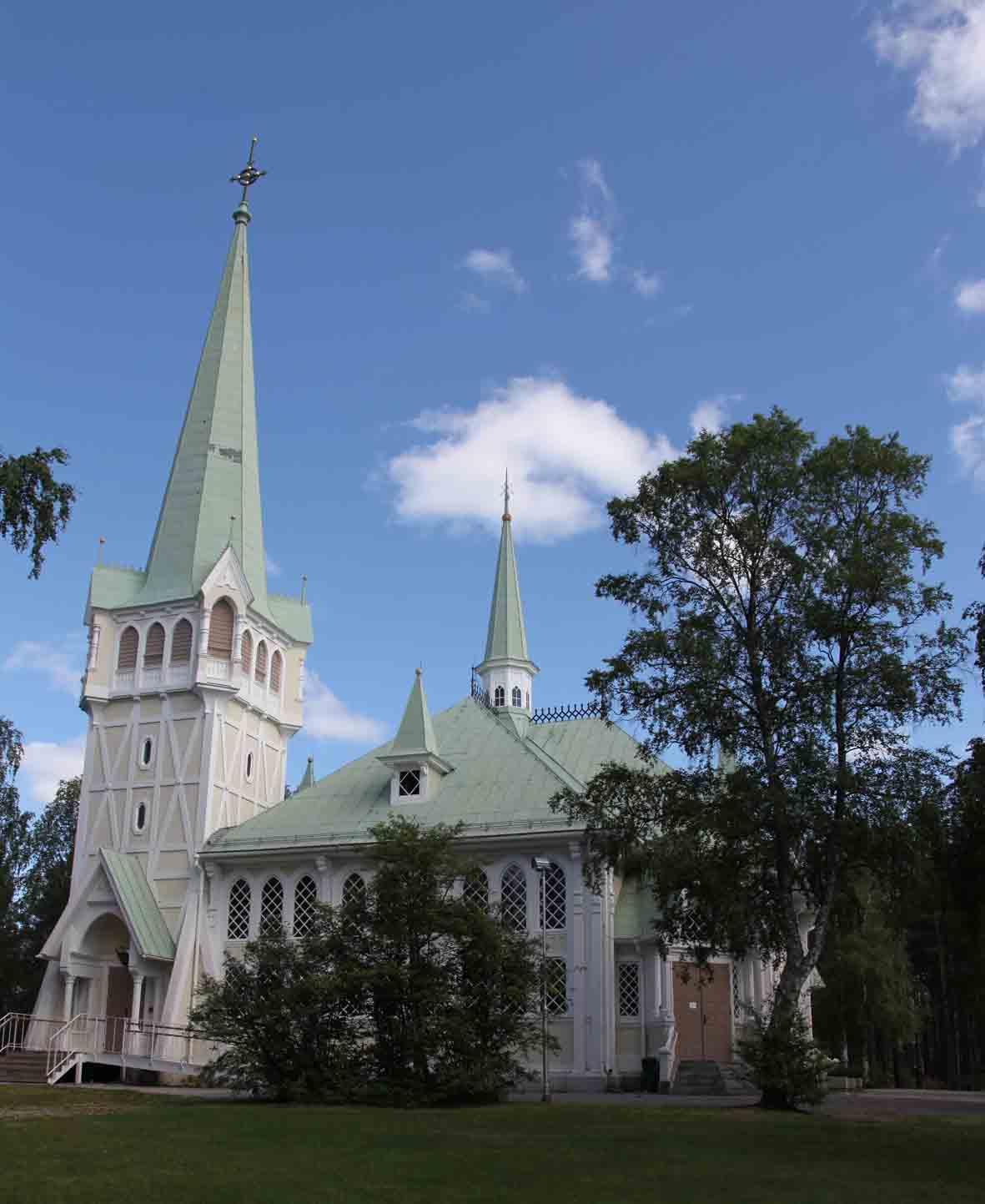 The church in Jokkmokk
