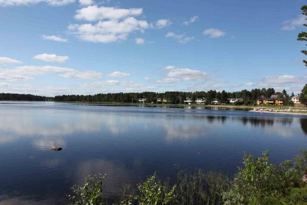 Lapland is full of lakes. This is one outside Jokkmokk.