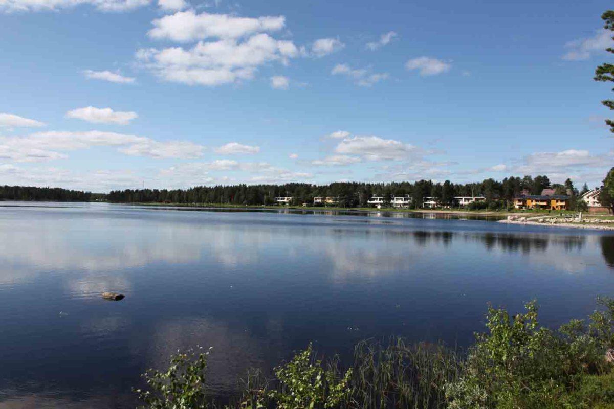 Lapland is full of lakes. This is one outside Jokkmokk.