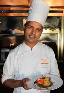 The Indian Pavilion's new chef, Faizen Ali has worked in hotels from Dubai to Bali. Picture: Peter Berg-Munch