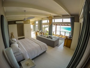 Talk about a divine view from the bed!.
