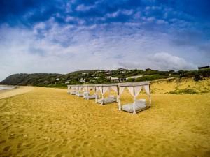 The White Pearl beach at Ponta Mamoli