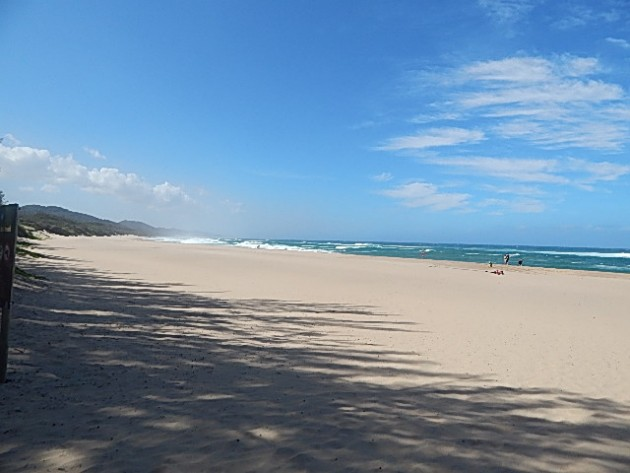 The beaches are endless at Cape Vidal