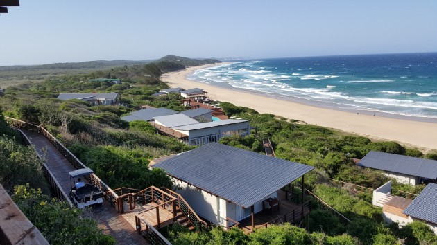The 2 km beach, on the south east coast of Mozambique.