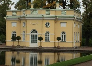 Pool House in the grounds of Catherine's Palace. Picture: Caroline Hurry