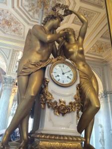 Art Deco clock in The Hermitage