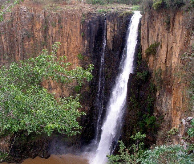 The Howick Falls.