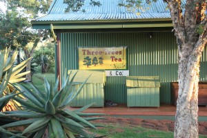 Built in corrugated iron materials of the 19th century, Three Trees Lodge in Spionkop offers modern-day amenities.