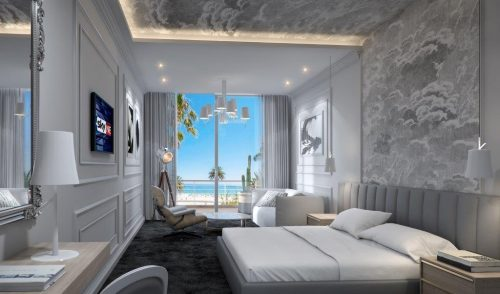 Room with a sea view at The Marly in Camps Bay