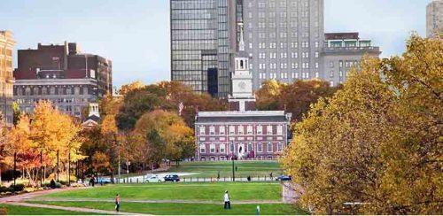 Independence National Historical Park in Philadelphia. Photo courtesy C. Smyth for Visit Philadelphia.