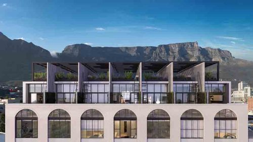 The Harri penthouse roofs