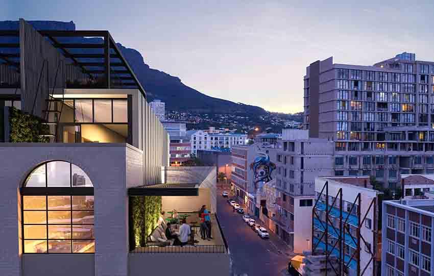 The Harri's penthouse patio